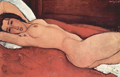 Nu allong Amadeo Modigliani 012