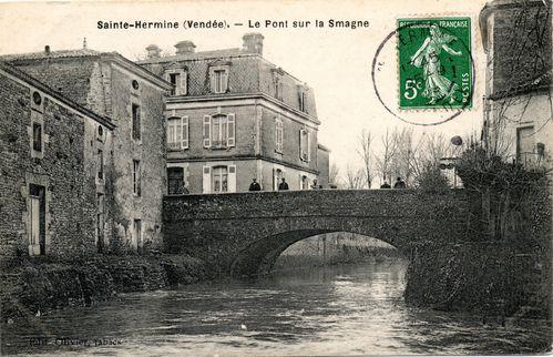 Cs Ste Hermine Le pont sur la smagne