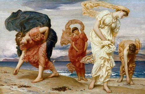 Filles grecques Leighton
