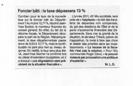 Ouest France 20-10-10