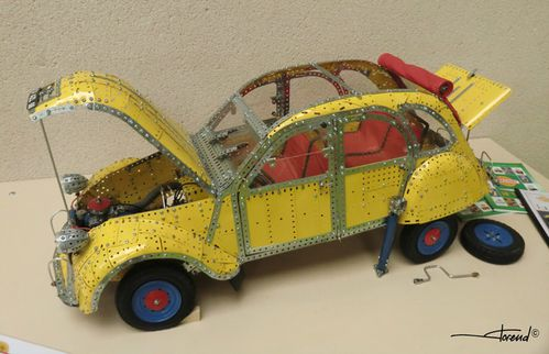 incroyable 2cv meccano elcamino137. Black Bedroom Furniture Sets. Home Design Ideas