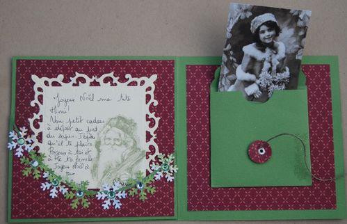 Carte de Noël de Chantal n°2