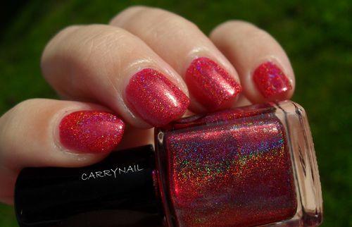 Glitter Gal Red 3D 6