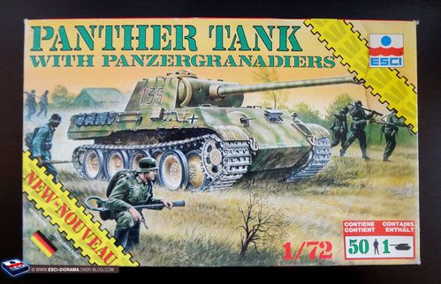 esci 8603 - Panther Tank with panzergranadiers
