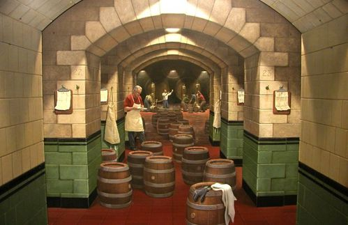 Miller brewery trompe-l'oeil E. Grohe