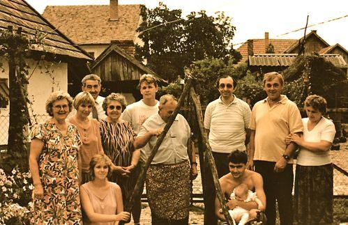 családi látogatás
