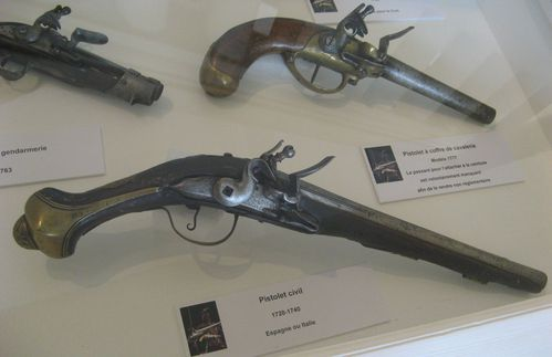 musee armures 9- avril 2012- pistolet civil