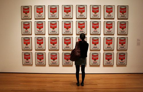 Warhols campbell soup