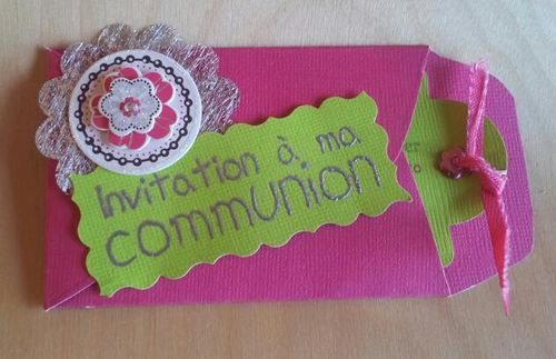 carte communion Nana 1