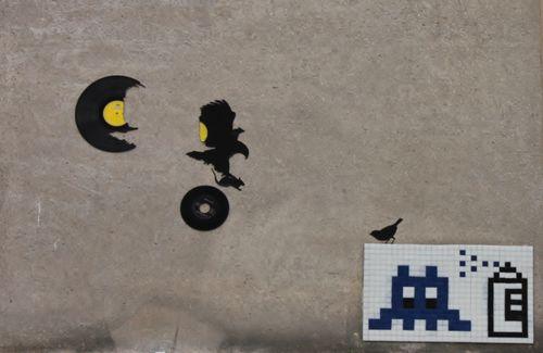 Montmartre Vinyle Oiseau