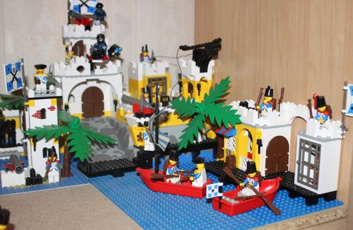 LEGO 6263 Pirates Imperial Outpost 17