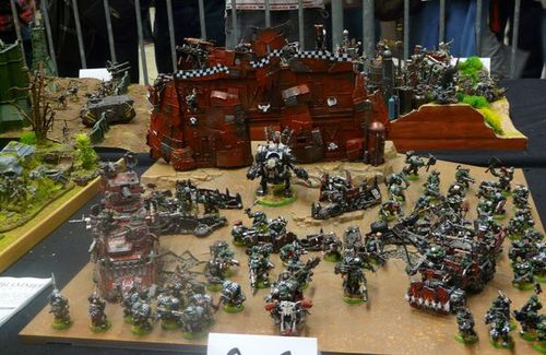 armies on parade - table ork