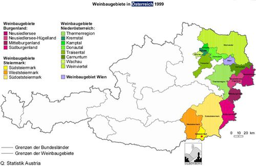 weinbaugebiete oesterreich