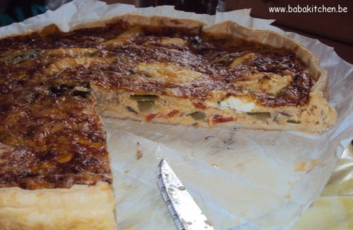 quiche ratatouille 1
