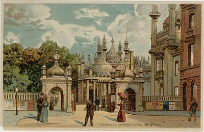 Brighton--Royal Pavillion, entrance