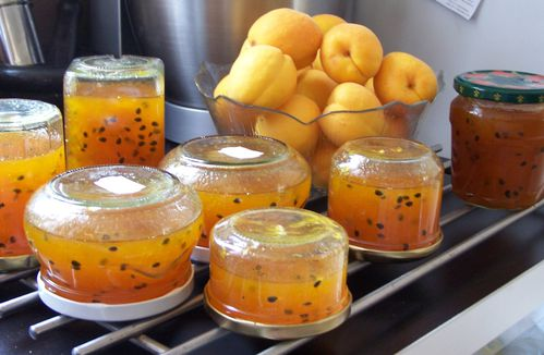 confiture abricot fruit de la passion