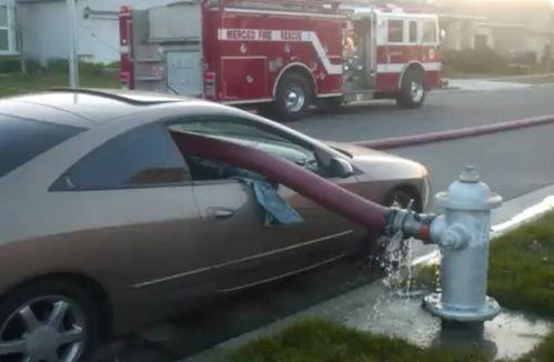 Ne pas garer devant une bouche d'incendie