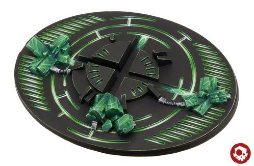Tabletop Art Crystal Tech+Kristalle