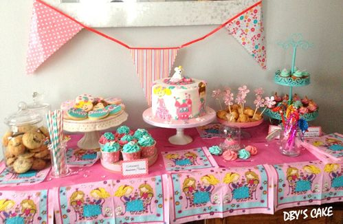 Sweet Table Petites Princesses Dby 39 S Cake