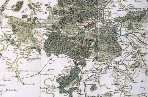 Fontainebleau cassini