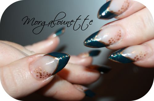 Edge nail art facile morgalounette (11)