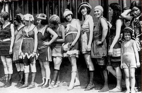 maillots de bain USA 1920