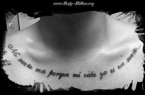 Body-Station tatouage : Lettrage - Le blog de Body Station