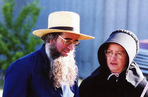 couple amish