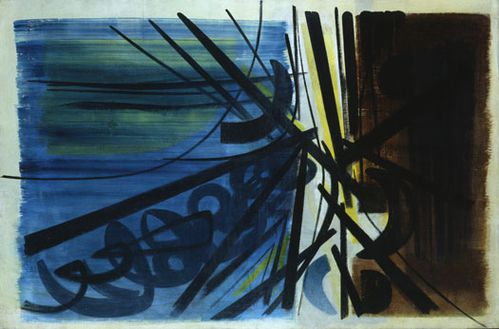 Hans HARTUNG Composition T.50-5