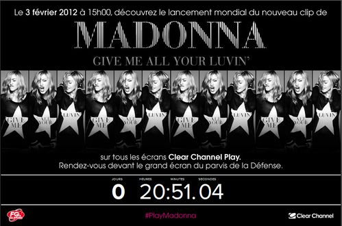 madonna clearchannel