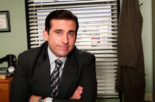the office nbc tv show image steve carrol as michael scott