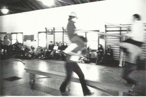 Flux-Sports 1970 Old Gym. Douglass Gollege ph. Peter Moore