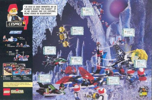 Pub Lego 1993 (journal de Mickey n-¦ 2127)