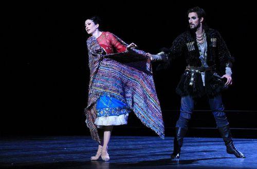 Ciaravola et Chaillet à l'acte II La Source