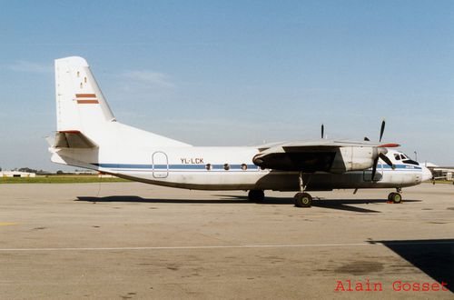 Antonov 26 YL-LCK