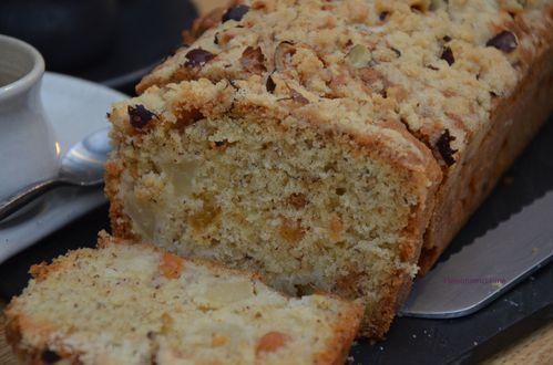 Crumble cake aux pommes 4