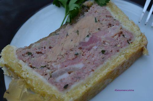 Pâté en croûte de jarret de porc et foie gras 3