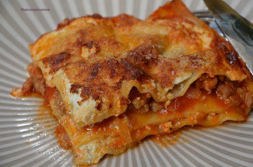 Lasagnes saucisse pécorino 3