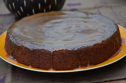 Gateau moelleux dattes sauce toffee 2