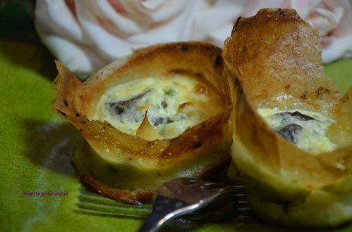 Bouch es croquantes escargots fromage de ch vre 4 - Cuisiner les escargots ...