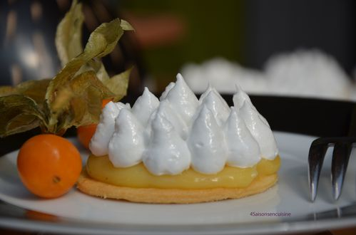 Tartelette citron meringue italienne