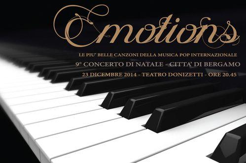 Concerto di Natale Città di Bergamo (9^ ed.). Grande successo di pubblico e scorscianti appalusi al Teatro Donizetti