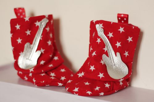 rocky baby's boots