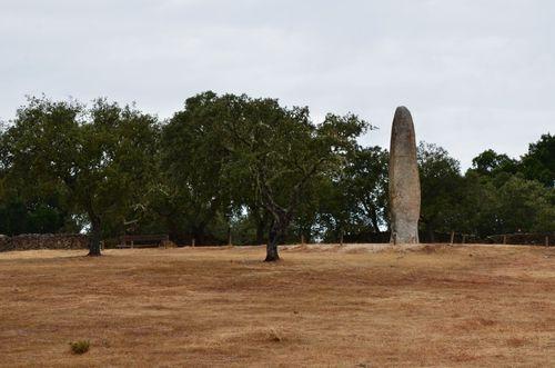 Portugal-2014 0452 Menhir de Maeda