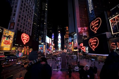 Tracey Emin Times square