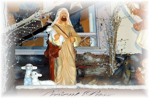 crêche de Noël 25