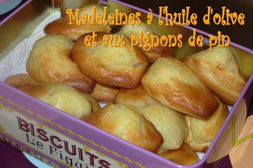 Madeleines huile d'olive-pignons3