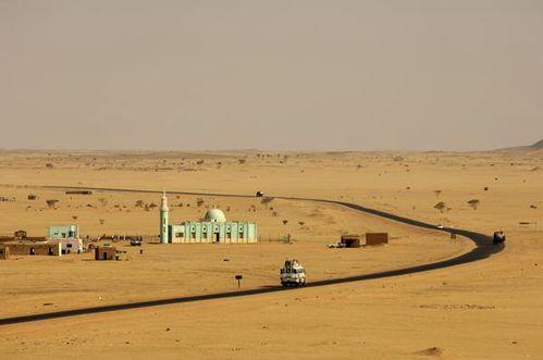 Soudan desert