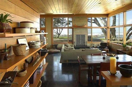 Livingroom-of-Wood-Home-Decoration-by-Johnston-Architects-B
