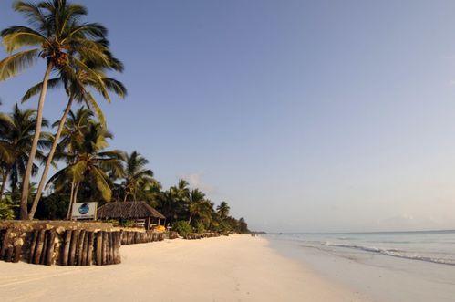 plage Kiwengwa à zanzibar